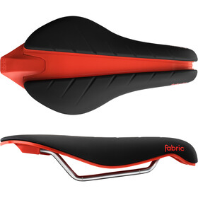 Fabric Tri Elite Flat Saddle black/red